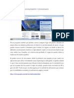 USO DIDÁCTICO DE GOOGLE EARTH Y GOOGLE MAPS