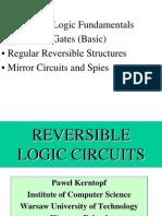 Reversible Logic