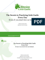 Secrets to Practicing Irish Gaelic