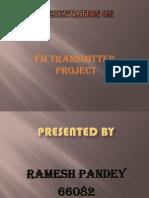 Presentation on FM Transmitter Project