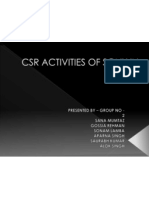 Csr Activities of Sony in 2010-11