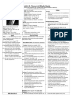 FDR Study Guide (Autosaved)