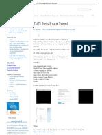 [TUT] Sending a Tweet _ Blundell