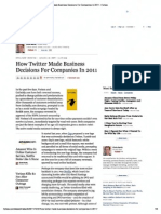 Print - How Twitter Made Business Decisions for Companies in 2011 - Forbes