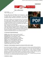 Cei Mai Buni 10 Medici Ai Romaniei - Septembrie 2005