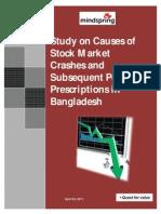 Stock Market Crashes in Bangladesh