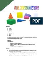 Planificacion Cuerpos Geometricos