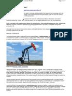 Artficial Lift Techniques - Oil Well
