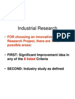 Industrial Research