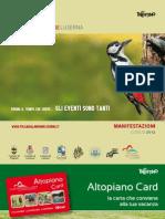 Folgaria, Lavarone, Luserna, eventi di luglio 2012