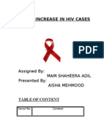 Rapid Increase in Hiv Cases
