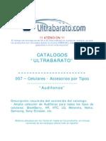 007 - Accessorios Por Tipos - Audifonos - UT