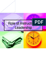 Role of Instructional Lead