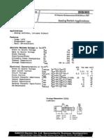 K583 N-JFET Datasheet