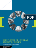 University of Birmingham Policy Commission Nuclear Energy Report