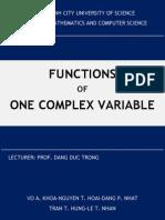 Essay Complex Analysis
