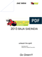 Rulebook_baja Saeindia 2013 Rev 0