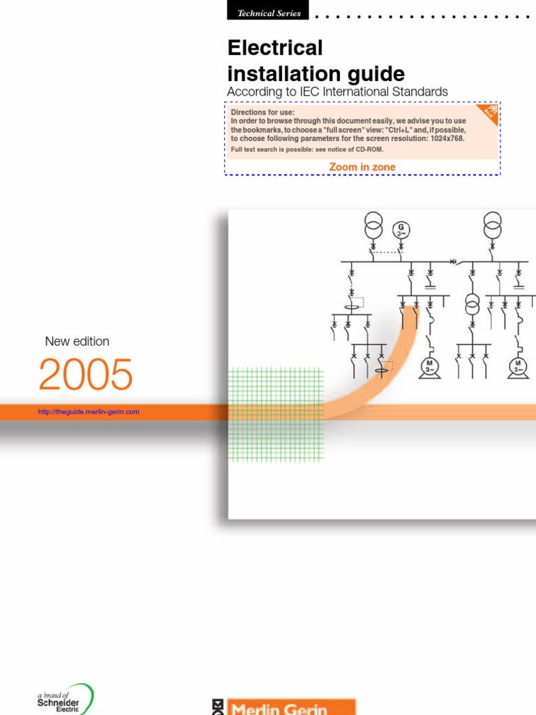 Electrical Installation Guide - Iec Standards Compliant 2005 | Electrical  Wiring | High Voltage