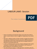 LABOUR LAWS -Session - Constitution