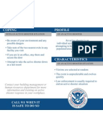 Active Shooter Pocket Card by The Department of Homeland Security