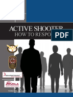 Active Shooter Booklet by the Department of Homeland Security