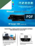 Instrutivo Instalacion CISS HP 122
