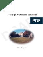 The LATEX Mathematics Companion