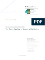 Rising Age Gap in Economic Well-Being