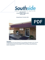 Southside Newsletter, Spring Edition 2012