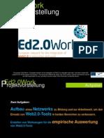 Europäisches Netzwerk zur Integration von Web2.0 in Ausbildung und Arbeit