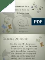 Case Pres Surgical Osteosarcoma