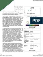 Carbon - Wikipedia, The Free Encyclopedia