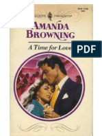 Amanda Browning - A Time for Love (PDF)