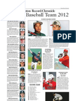 2012all Area Baseball