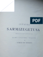 Antonescu T. - Cetatea Sarmizegetusa Reconstituita Dupa Columna Traiana Si Ruinele Din Gradistea, 1906