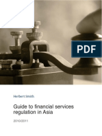 Guide to Financial Services Regulation in Asia 2011