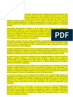 Resumen Ejecutivo del informe de The Access Initiative para Argentina 2009