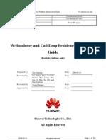 w Handover and Call Drop Problem Optimization Guide 20081223 a 3 3
