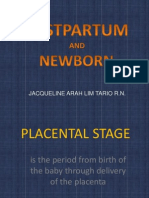 Postpartum and Newborn Final