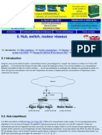 Hub, switch, routeur réseaux