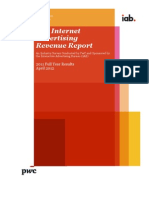 IAB Internet Advertising Revenue Report FY 2011