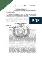 Codigo Penal de Bolivia