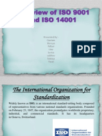 Over-View of ISO 9001 and ISO 14001