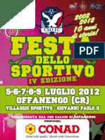 Estate 2012 - Festa dello sportivo Offanengo