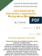 Encuentro PAD 2012