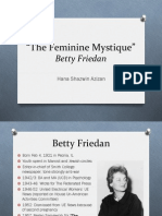 Friedan's The Feminine Mystique