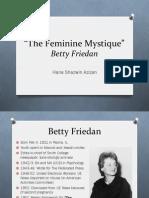 Friedan's The Feminine Mystique