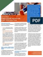 Minnesota Mediation Fact Sheet