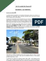 Paisaje urbano de la ciudad de Asunción Sacramento-Arq.Julio R