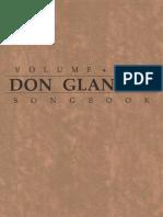 Don Glanden Songbook Vol.1 (complete)